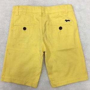 Harmont & Blaine Little Boy Yellow Shorts Size 6 Y